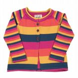 Kite Stripy Flower Cardi Baby Girl